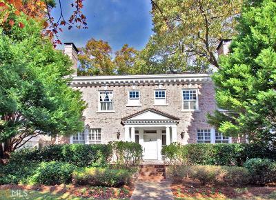 Atlanta Single Family Home New: 1166 Saint Charles Pl