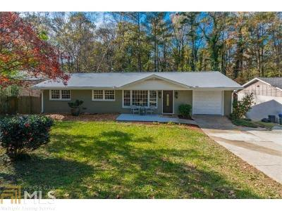 Chamblee Single Family Home For Sale: 2215 Capehart Cir