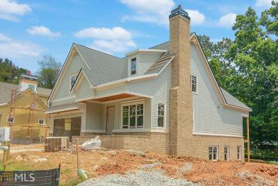 Gwinnett County Single Family Home New: 5460 Vineyard Park Trl