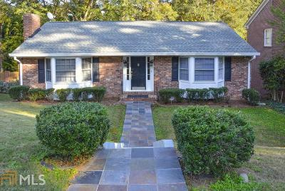 Atlanta Single Family Home For Sale: 1963 Lebanon Drive NE