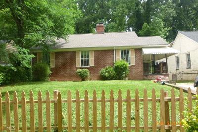 Atlanta Single Family Home New: 1729 Derry