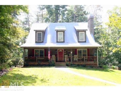 Dahlonega Single Family Home For Sale: 84 Yahoola Shoals Dr
