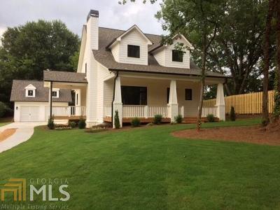 Decatur Single Family Home For Sale: 646 Jordan Ln
