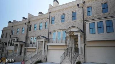 Atlanta Condo/Townhouse New: 3715 Peachtree Rd #10