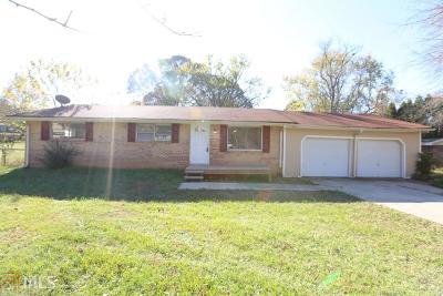 Douglasville Single Family Home New: 6204 Central Church Rd