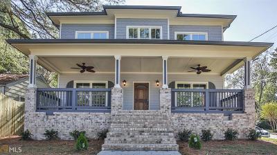 Atlanta Single Family Home For Sale: 756 Bellemeade Ave