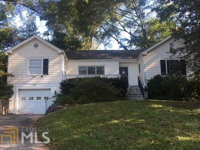 Atlanta Single Family Home New: 495 Woodward Way
