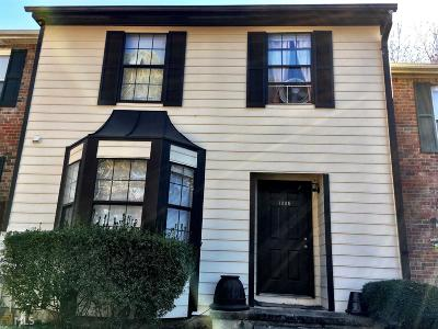 Kennesaw Condo/Townhouse For Sale: 1005 Travelers Trl