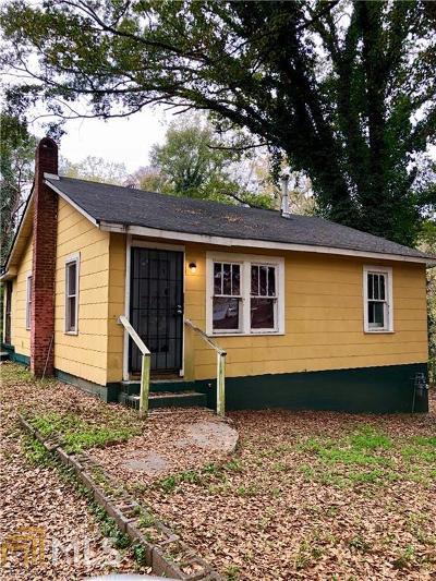 Dekalb County Single Family Home For Sale: 3427 Almand Rd