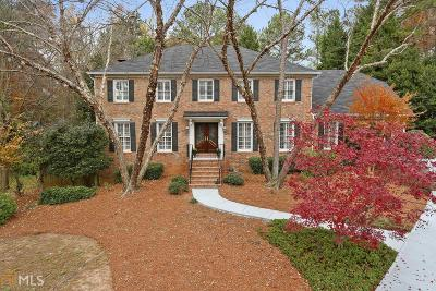Dunwoody Single Family Home For Sale: 1311 Mile Post Dr