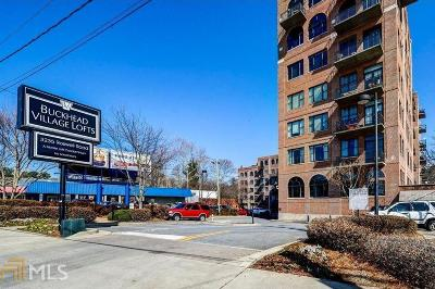 Buckhead Village Lofts Condo/Townhouse For Sale: 3235 Roswell Rd