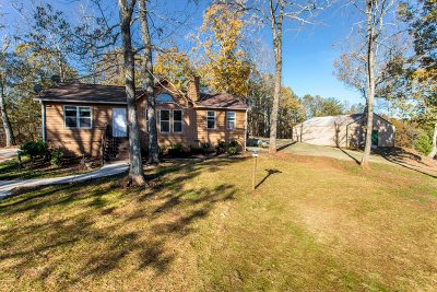 Cherokee County Single Family Home Under Contract: 668 Deer Track Rd