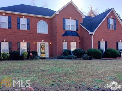 Conyers Single Family Home New: 3152 Claridge Dr