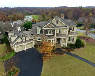 Dawsonville Single Family Home For Sale: 87 Blue Heron Bluff