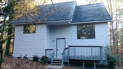Jasper County Single Family Home For Sale: 1535 Alcovy North Dr