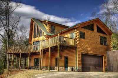 Rabun County Single Family Home For Sale: 517 Oakey Ridge Cir
