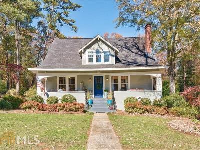 Historic Marietta Single Family Home For Sale: 253 Seminole Dr