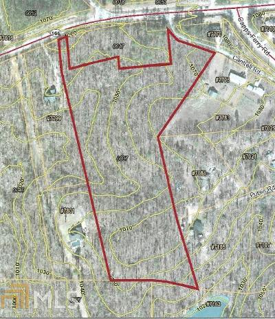 Douglasville Residential Lots & Land For Sale: Highway 166