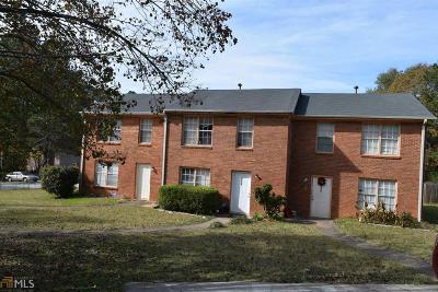 Clayton County Multi Family Home New: 8511 Pineland Dr