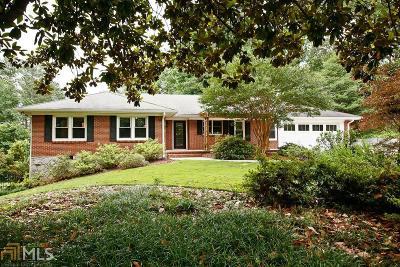 Atlanta Single Family Home New: 1567 Deer Park