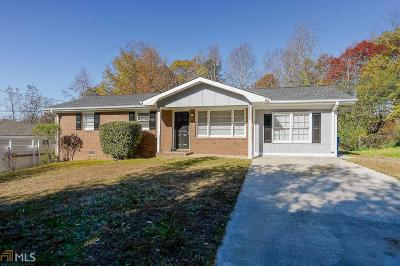 Austell Single Family Home Under Contract: 6403 Kensington Ct