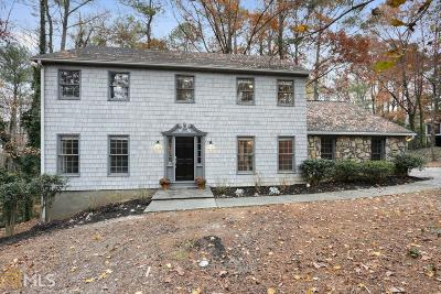 Sandy Springs Single Family Home For Sale: 410 Dalrymple Rd