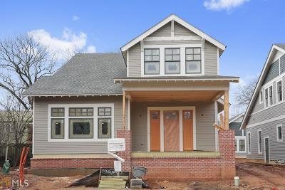 Inman Park Single Family Home For Sale: 200 Haralson Lane #1