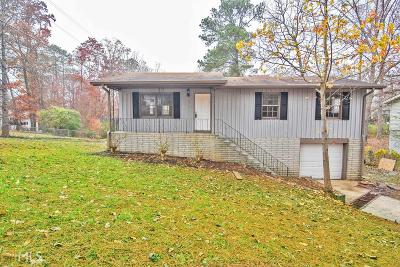 Kennesaw Single Family Home For Sale: 2514 Woodland Dr