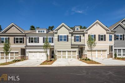 Sandy Springs Condo/Townhouse For Sale: 5726 Lake Forrest Dr #Lot #6