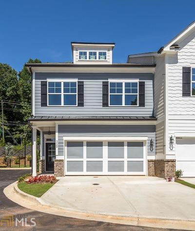 Sandy Springs Condo/Townhouse For Sale: 5728 Lake Forrest Dr #Lot #7