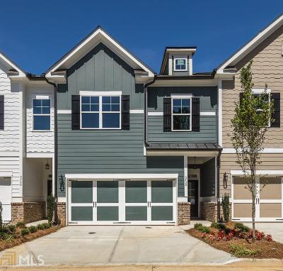 Sandy Springs Condo/Townhouse For Sale: 5732 Lake Forrest Dr #Lot #9