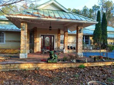 Coweta County Single Family Home For Sale: 379 Bohannon Rd