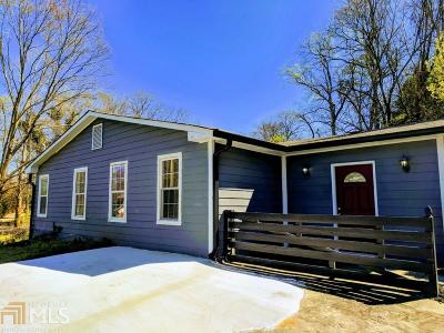 Hapeville Single Family Home For Sale: 356 Lake Dr