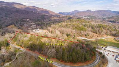 Rabun County Commercial For Sale: 37 Bynum