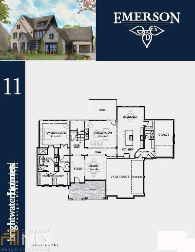 Emerson Single Family Home New: 2718 Ellery Way #11