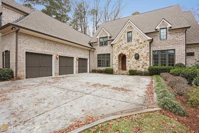 Sandy Springs Single Family Home New: 394 Carriage Dr