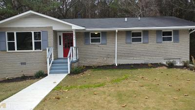 Atlanta Single Family Home New: 677 Plainville Dr