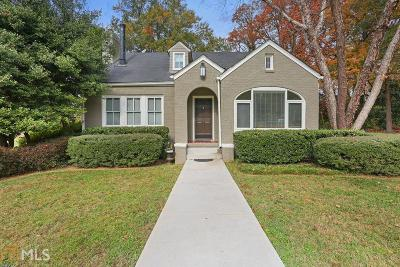Atlanta Single Family Home New: 756 Cumberland Rd