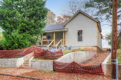 Atlanta Single Family Home New: 1045 Longley Ave