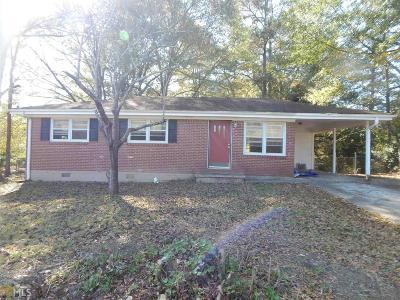 Austell Single Family Home New: 5870 Miller Rd