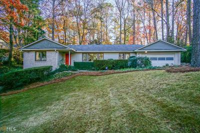 Atlanta Single Family Home New: 4421 NE Tree Haven Dr