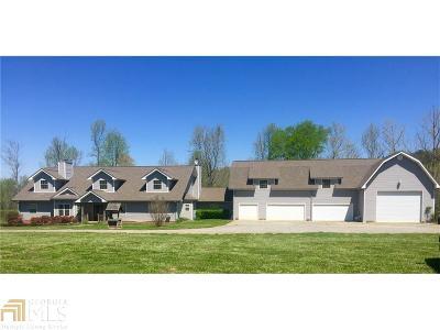 Gordon County Single Family Home For Sale: 2175 Self Lake Rd