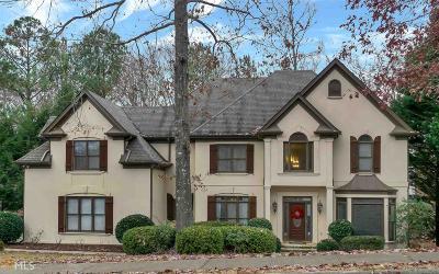 Johns Creek Single Family Home New: 6055 Sweet Creek Rd