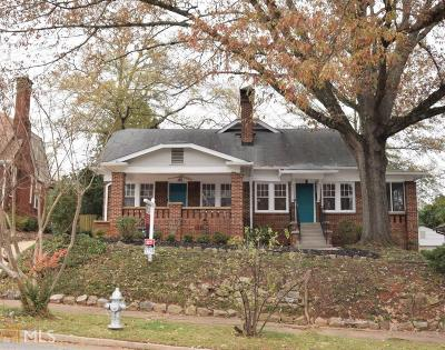 Atlanta Single Family Home New: 1269 N Morningside Dr