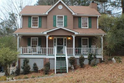 Acworth Single Family Home New: 2891 Emerald Ln