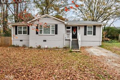 Decatur Single Family Home New: 1418 Rupert Rd