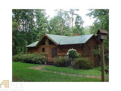 Dahlonega Single Family Home For Sale: 114 Spring Valley Trce