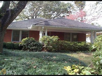 Atlanta Single Family Home New: 980 Todd Road NE