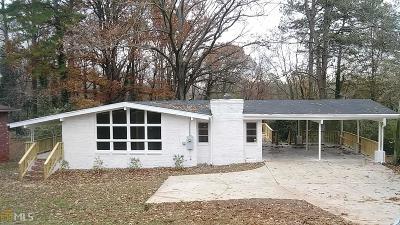 DeKalb County Single Family Home New: 535 N Hairston Rd