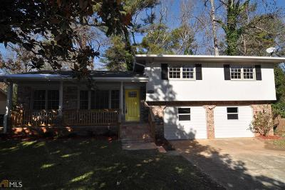 Stone Mountain Single Family Home New: 802 San Miguel Dr
